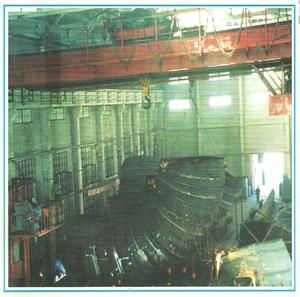 水电站尾水锥管